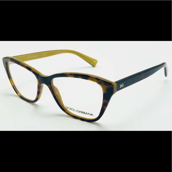 e535a72350c24 New Dolce   Gabbana Tortoise RX Optical Frame 3249